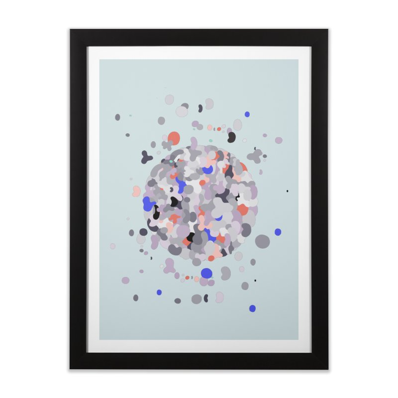 Cellular Senescence Home Framed Fine Art Print by zeroing 's Artist Shop
