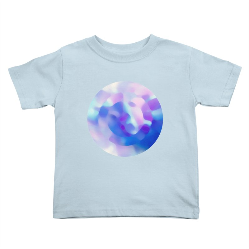 Blue Kids Toddler T-Shirt by zeroing 's Artist Shop