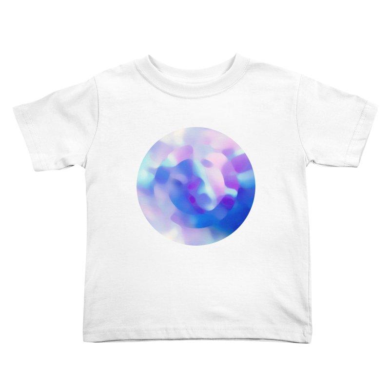Blue Kids Toddler T-Shirt by zeroing 's Artist Shop