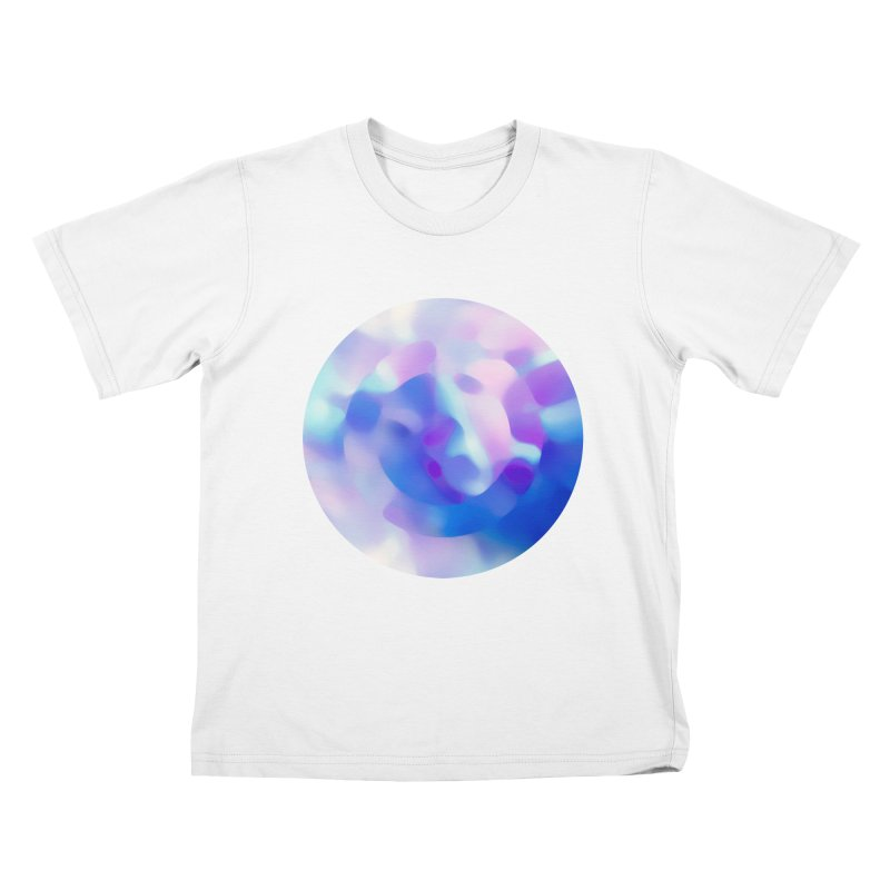Blue Kids T-Shirt by zeroing 's Artist Shop