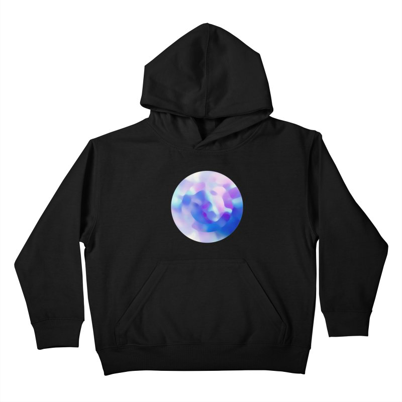 Blue Kids Pullover Hoody by zeroing 's Artist Shop