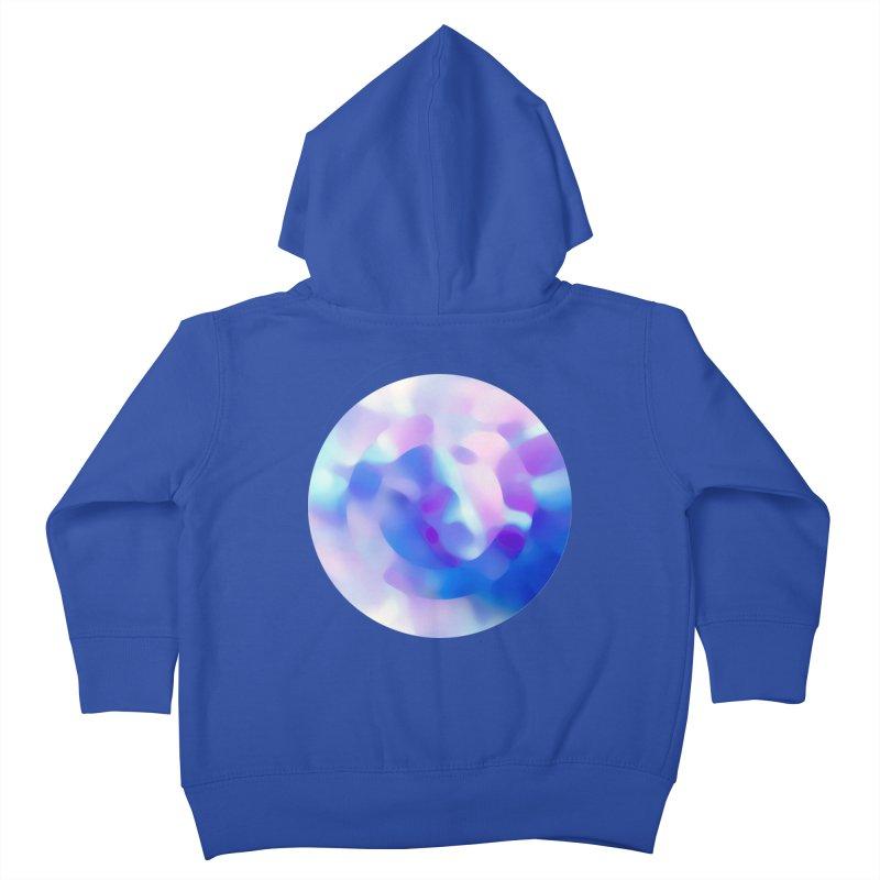 Blue Kids Toddler Zip-Up Hoody by zeroing 's Artist Shop