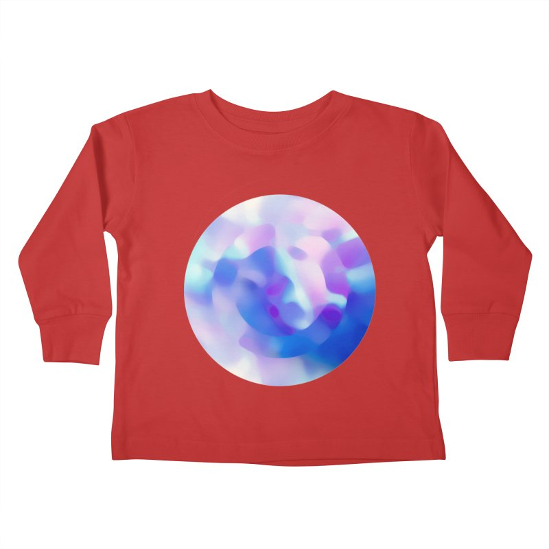 Blue Kids Toddler Longsleeve T-Shirt by zeroing 's Artist Shop