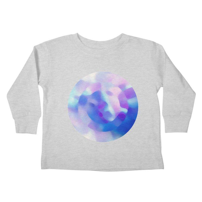 Blue Kids Toddler Longsleeve T-Shirt by zeroing 's Artist Shop