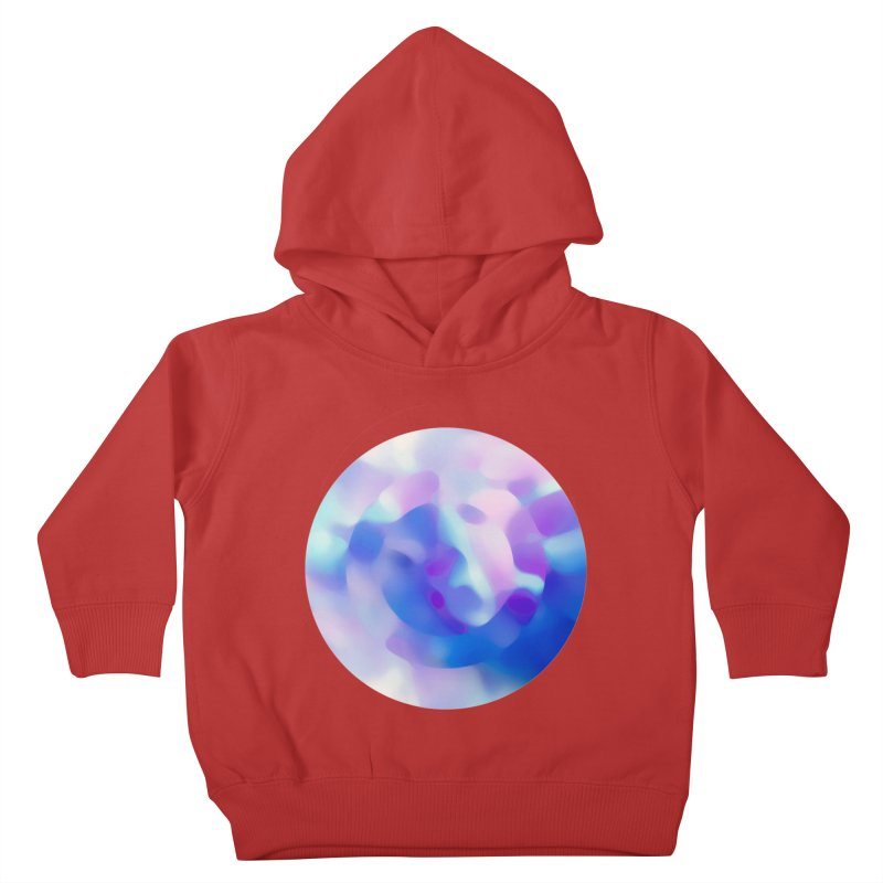 Blue Kids Toddler Pullover Hoody by zeroing 's Artist Shop
