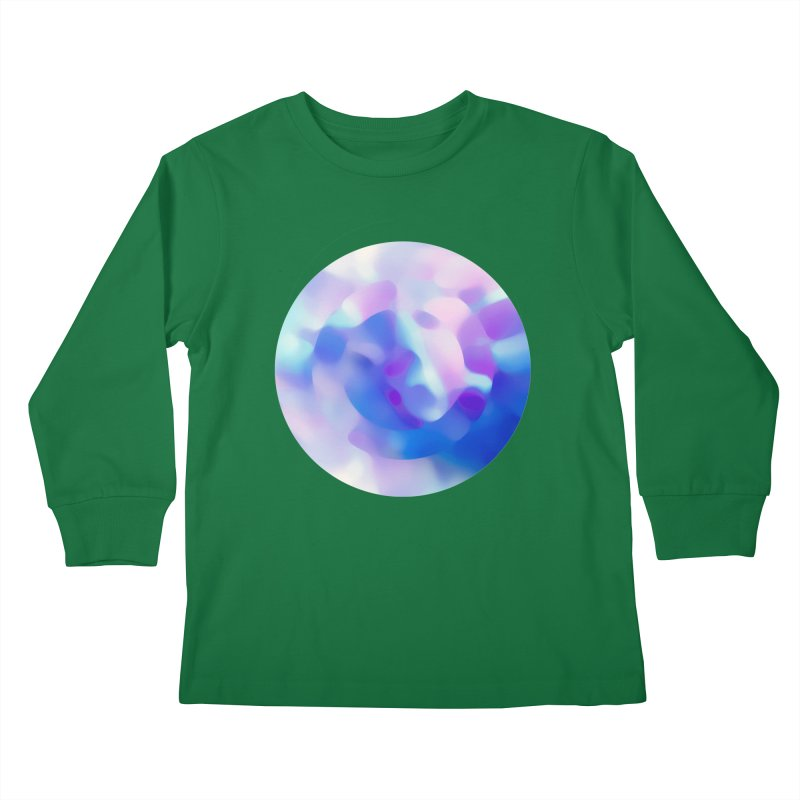 Blue Kids Longsleeve T-Shirt by zeroing 's Artist Shop