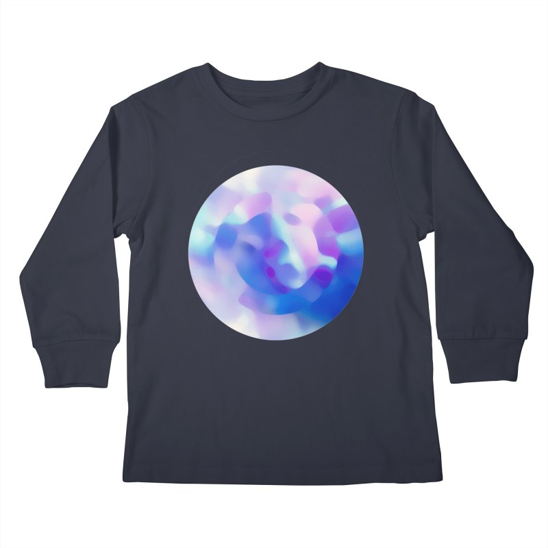 Blue Kids Longsleeve T-Shirt by zeroing 's Artist Shop