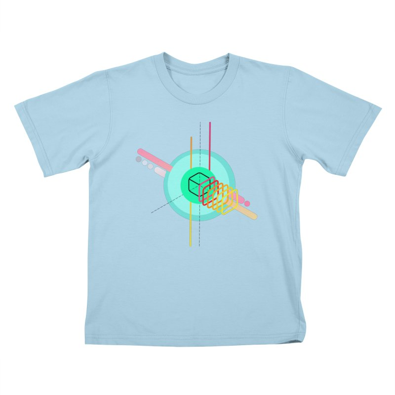 Composition 8 Kids T-Shirt by zeroing 's Artist Shop