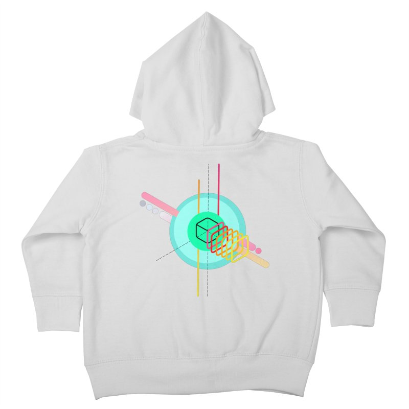 Composition 8 Kids Toddler Zip-Up Hoody by zeroing 's Artist Shop