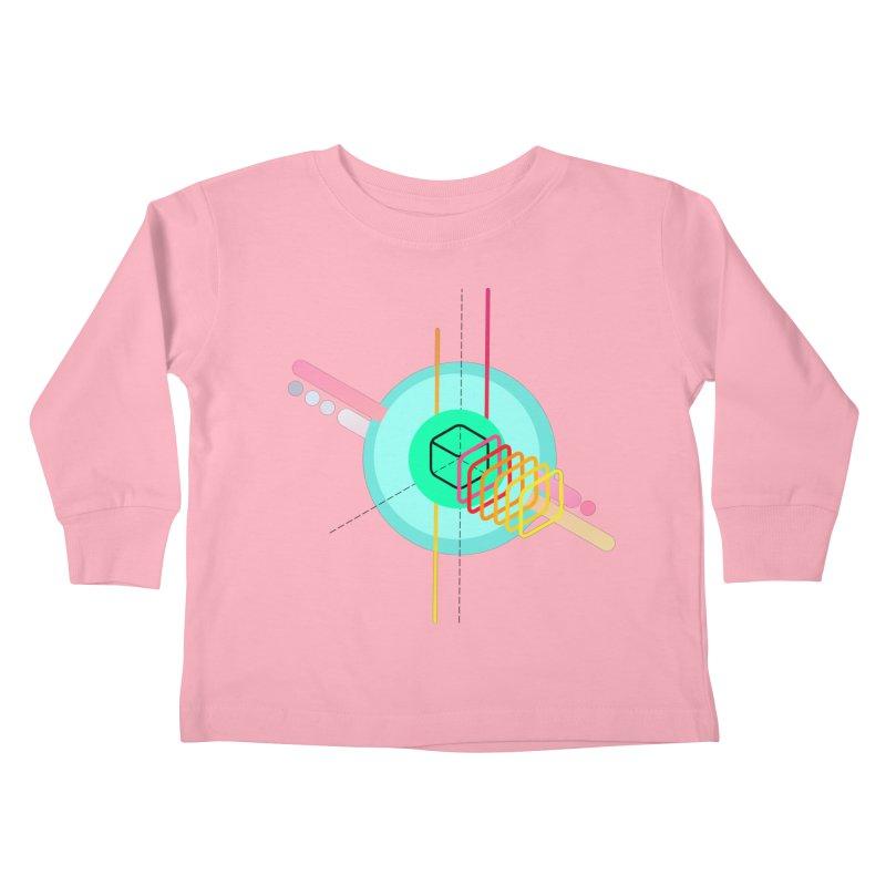 Composition 8 Kids Toddler Longsleeve T-Shirt by zeroing 's Artist Shop