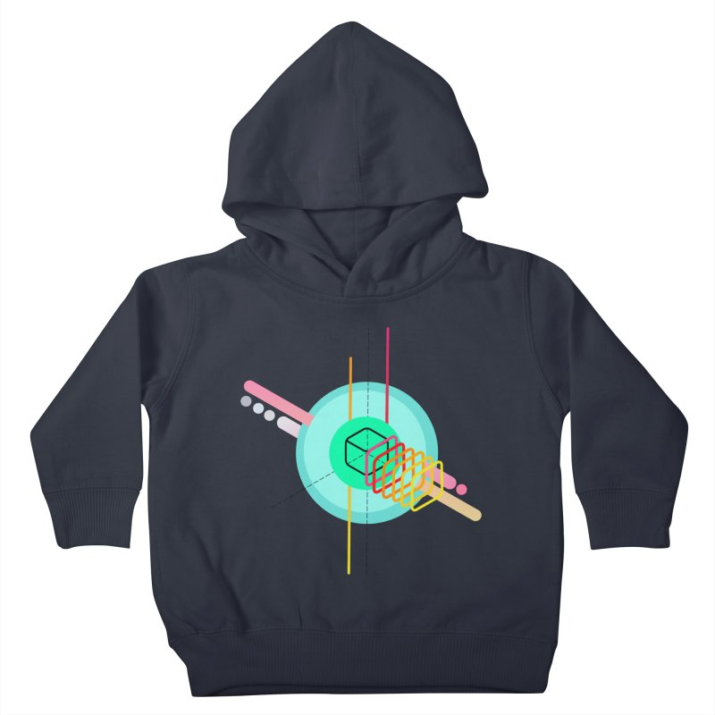 Composition 8 Kids Toddler Pullover Hoody by zeroing 's Artist Shop