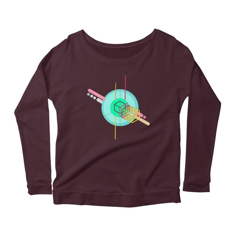 Composition 8 Women's Scoop Neck Longsleeve T-Shirt by zeroing 's Artist Shop
