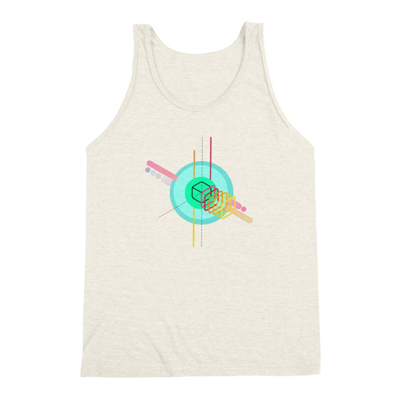 Composition 8 Men's Triblend Tank by zeroing 's Artist Shop