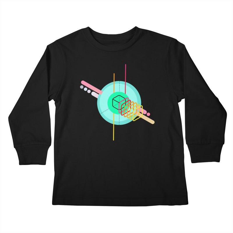 Composition 8 Kids Longsleeve T-Shirt by zeroing 's Artist Shop