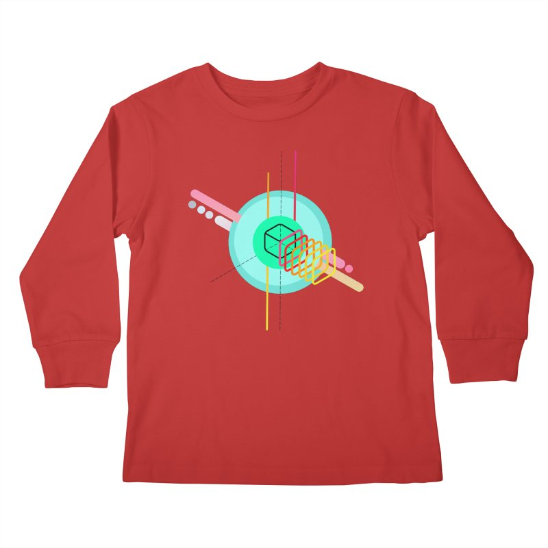 Composition 8 Kids Longsleeve T-Shirt by zeroing 's Artist Shop