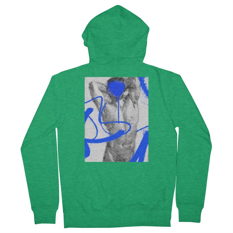 Nude nº1 Women's French Terry Zip-Up Hoody by zeroing 's Artist Shop