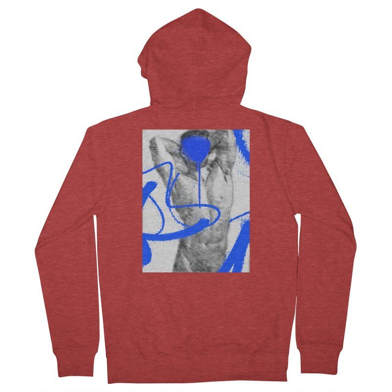 Nude nº1 Men's French Terry Zip-Up Hoody by zeroing 's Artist Shop