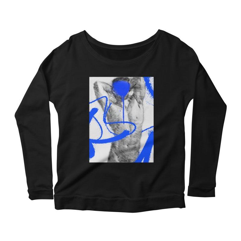 Nude nº1 Women's Scoop Neck Longsleeve T-Shirt by zeroing 's Artist Shop