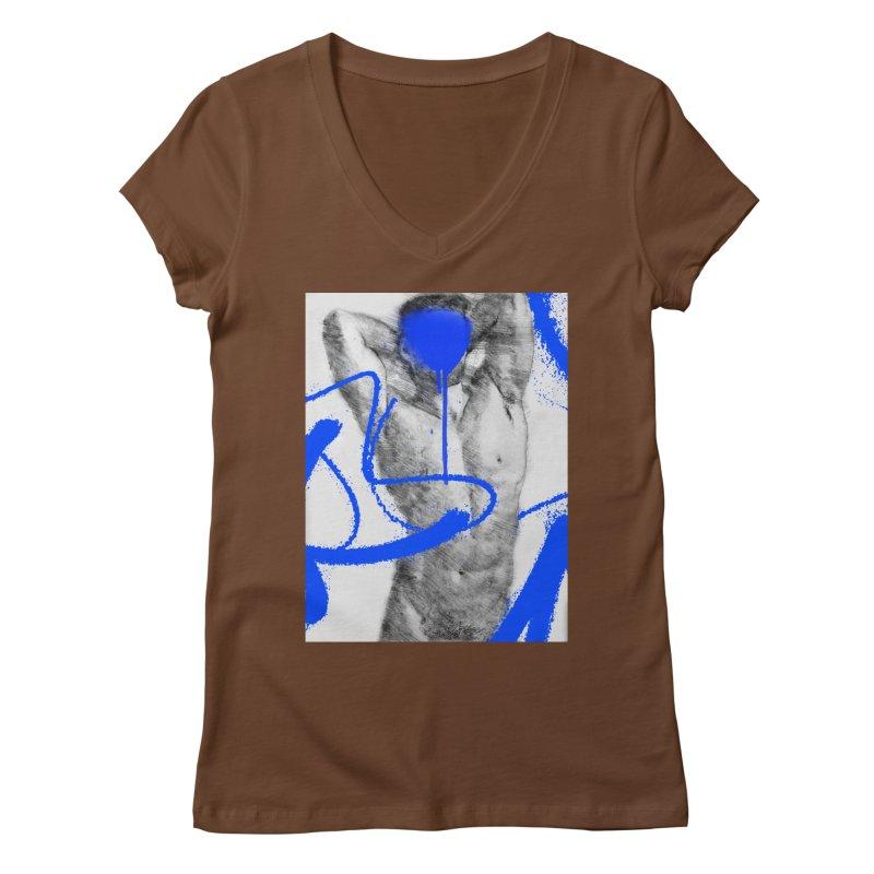 Nude nº1 Women's Regular V-Neck by zeroing 's Artist Shop