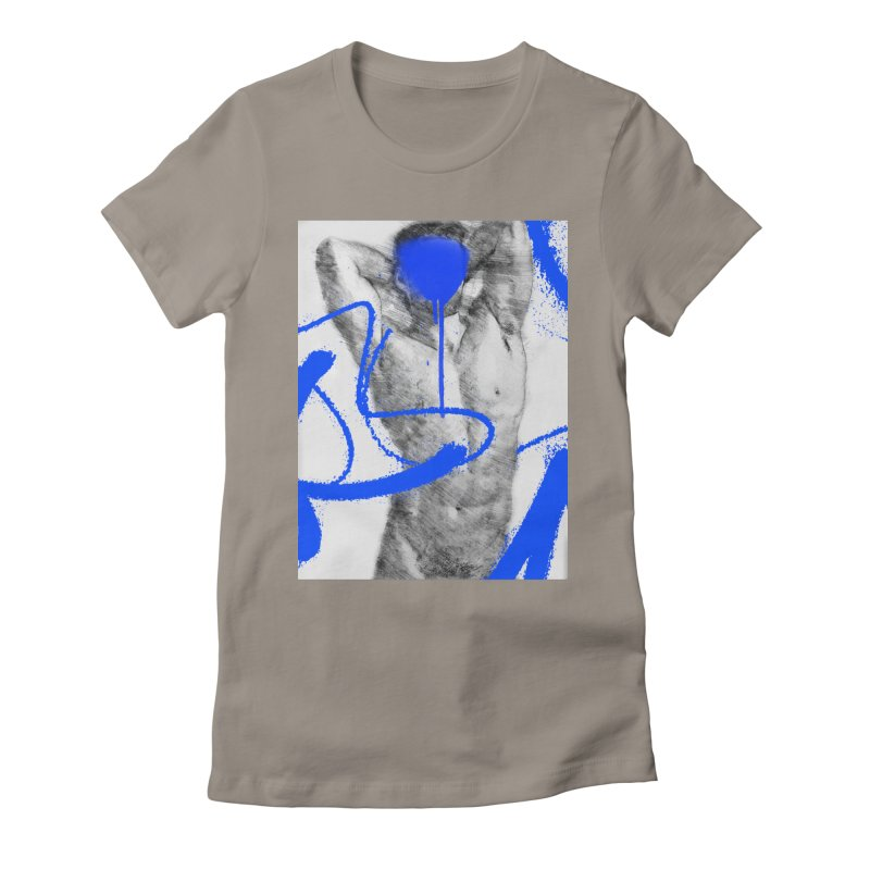 Nude nº1 Women's Fitted T-Shirt by zeroing 's Artist Shop