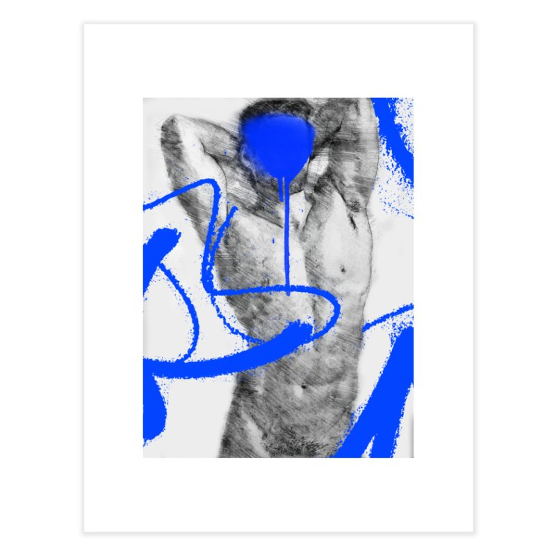 Nude nº1 Home Fine Art Print by zeroing 's Artist Shop