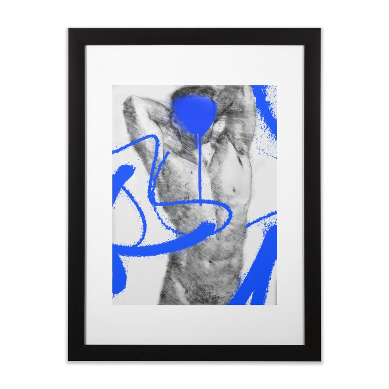 Nude nº1 Home Framed Fine Art Print by zeroing 's Artist Shop