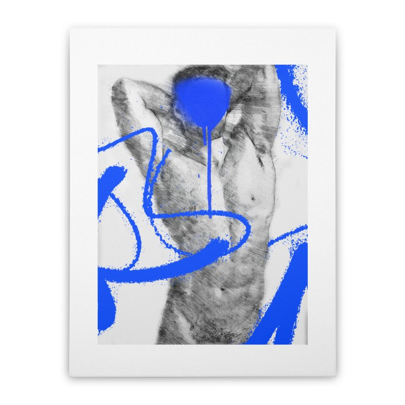 Nude nº1 Home Stretched Canvas by zeroing 's Artist Shop