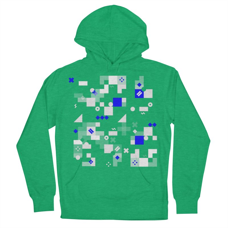 Composition 8 Men's French Terry Pullover Hoody by zeroing 's Artist Shop