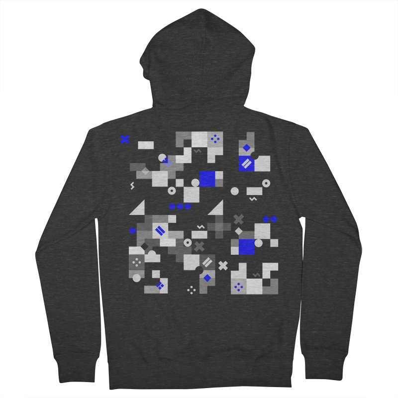 Composition 8 Men's French Terry Zip-Up Hoody by zeroing 's Artist Shop