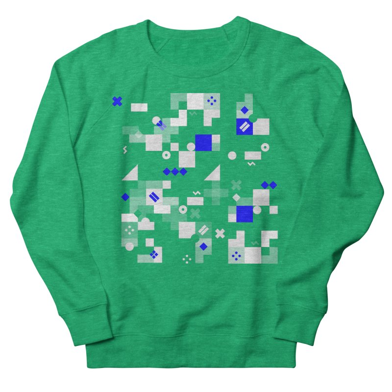Composition 8 Men's French Terry Sweatshirt by zeroing 's Artist Shop