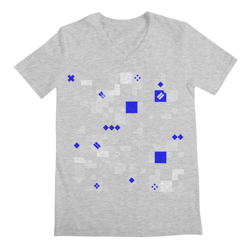 Composition 8 Men's Regular V-Neck by zeroing 's Artist Shop