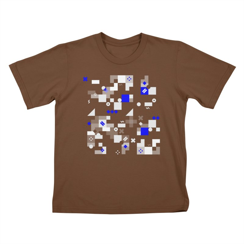 Composition 8 Kids T-Shirt by zeroing 's Artist Shop