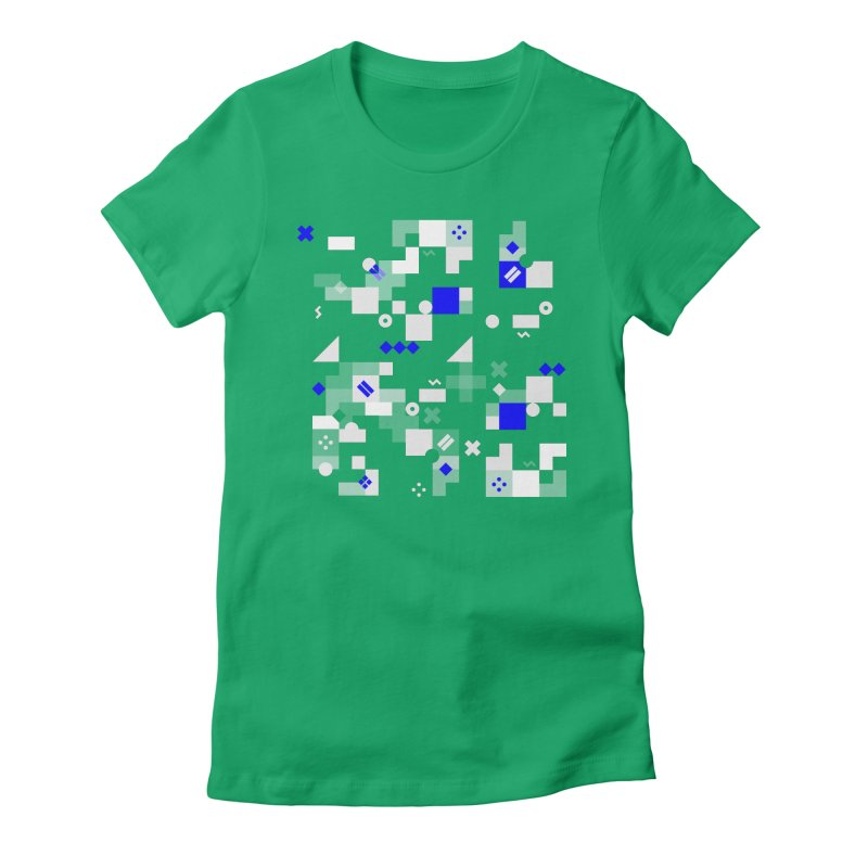 Composition 8 Women's Fitted T-Shirt by zeroing 's Artist Shop