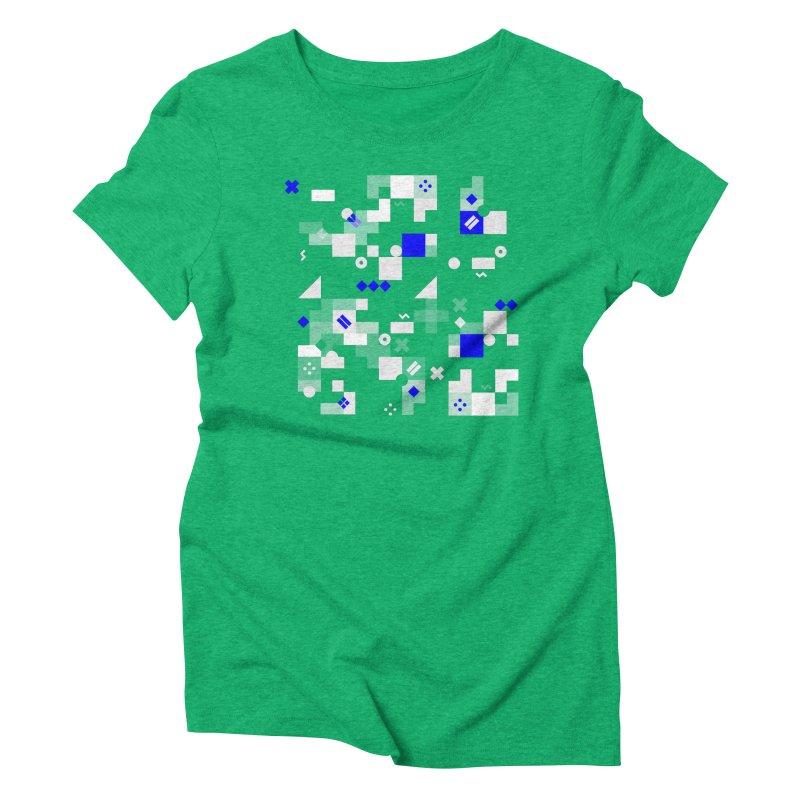 Composition 8 Women's Triblend T-Shirt by zeroing 's Artist Shop