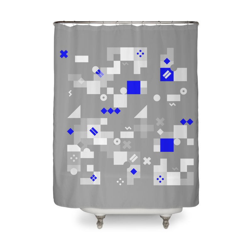 Composition 8 Home Shower Curtain by zeroing 's Artist Shop