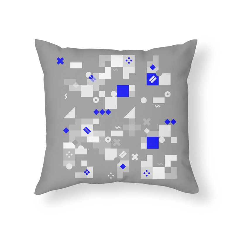 Composition 8 Home Throw Pillow by zeroing 's Artist Shop