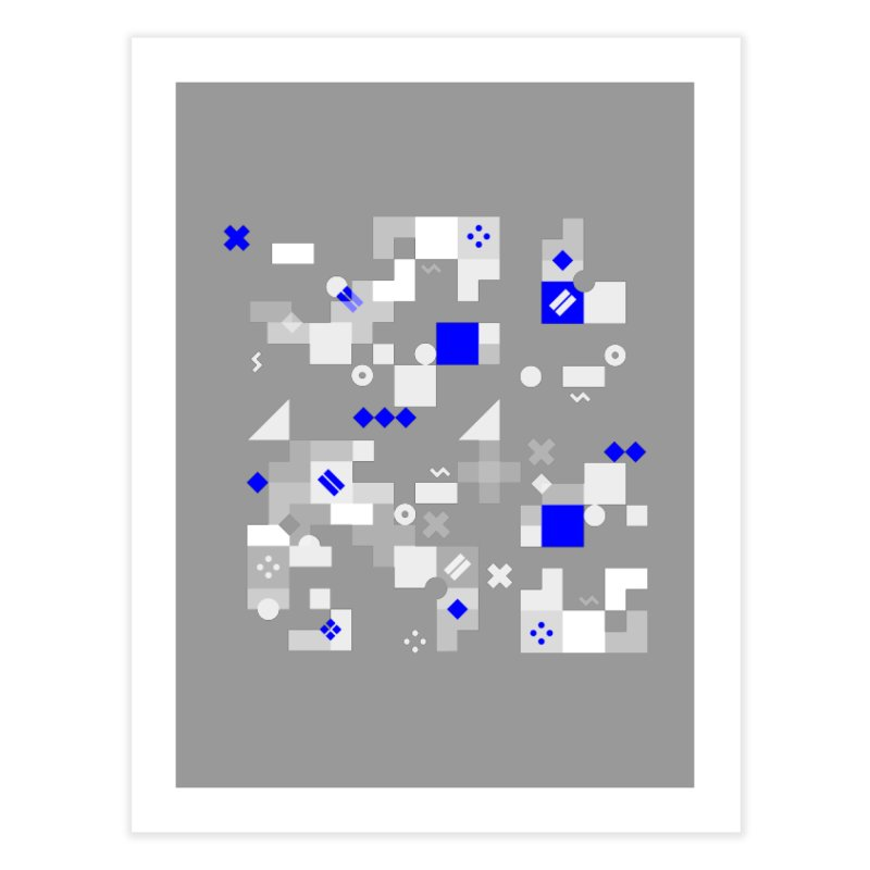 Composition 8 Home Fine Art Print by zeroing 's Artist Shop