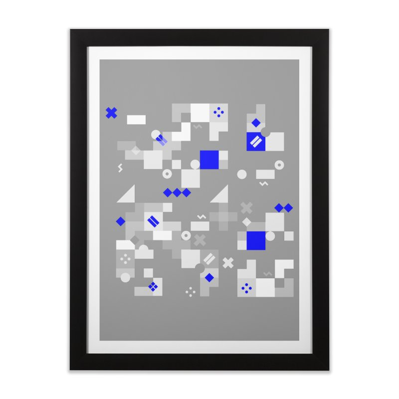 Composition 8 Home Framed Fine Art Print by zeroing 's Artist Shop