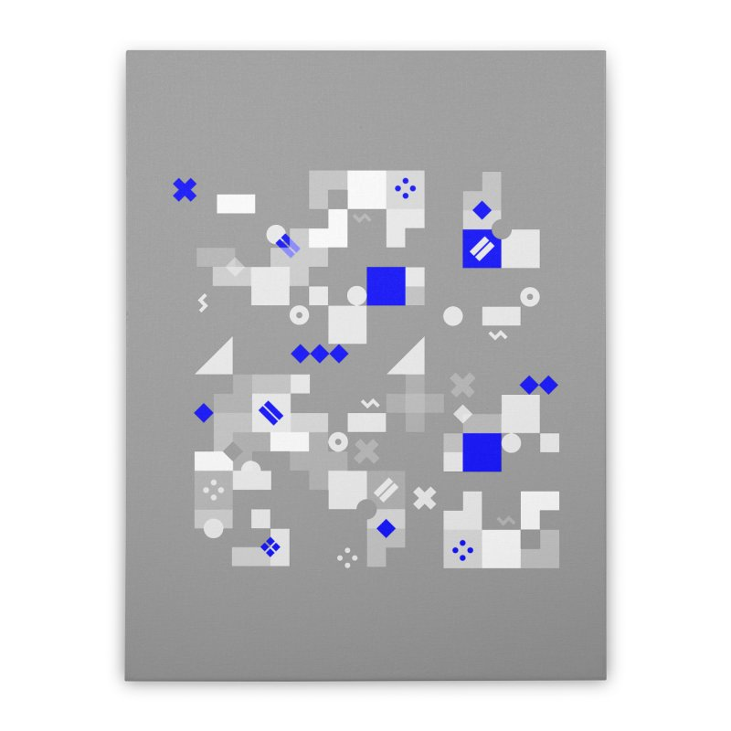 Composition 8 Home Stretched Canvas by zeroing 's Artist Shop