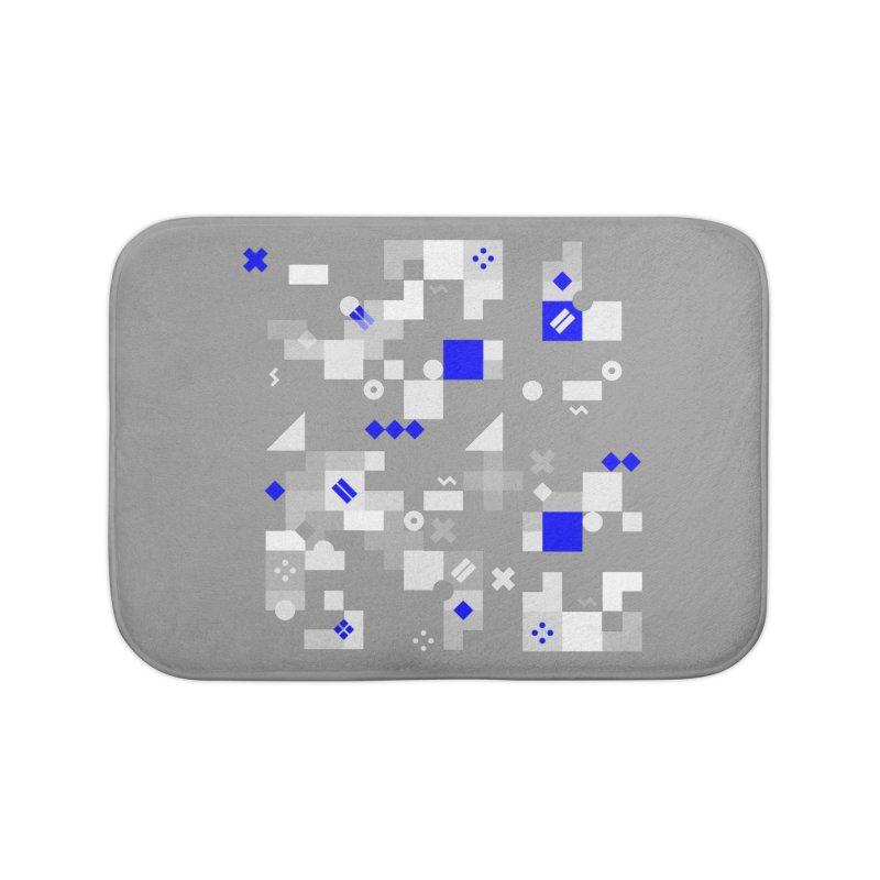 Composition 8 Home Bath Mat by zeroing 's Artist Shop