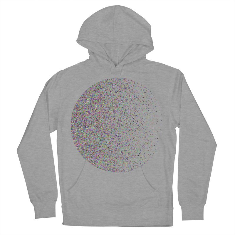 Pointilism in a Circle Men's French Terry Pullover Hoody by zeroing 's Artist Shop