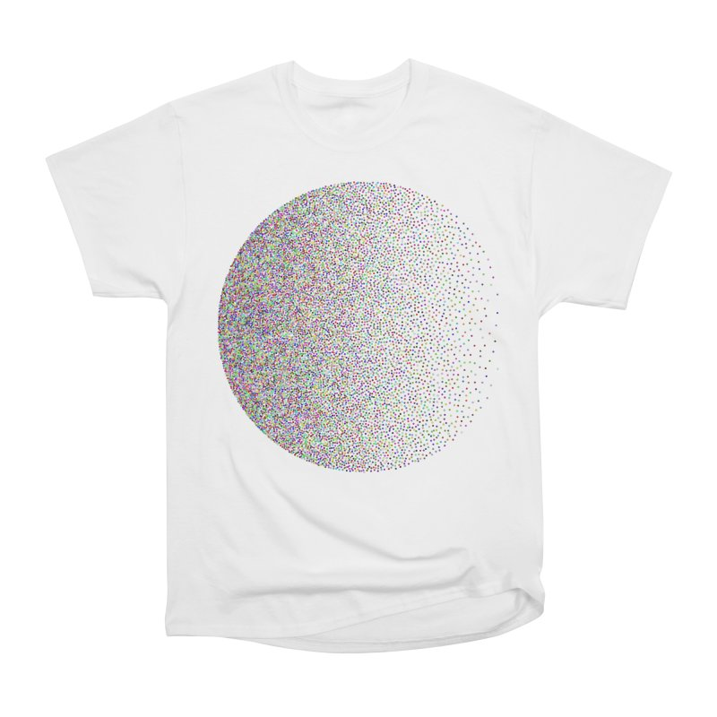 Pointilism in a Circle Men's Heavyweight T-Shirt by zeroing 's Artist Shop