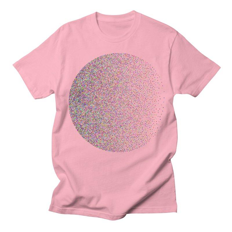 Pointilism in a Circle Women's Regular Unisex T-Shirt by zeroing 's Artist Shop