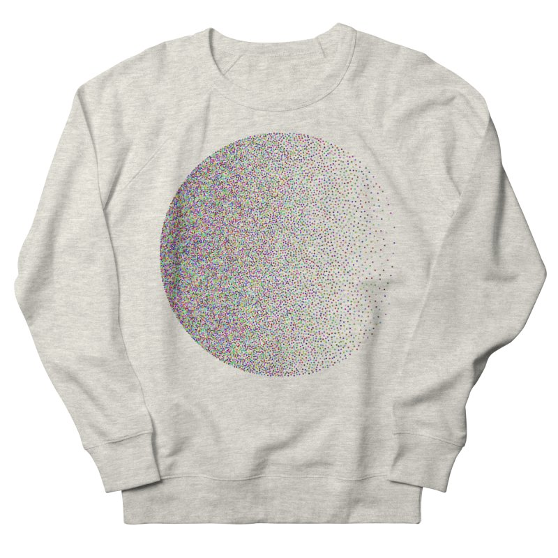 Pointilism in a Circle Women's French Terry Sweatshirt by zeroing 's Artist Shop
