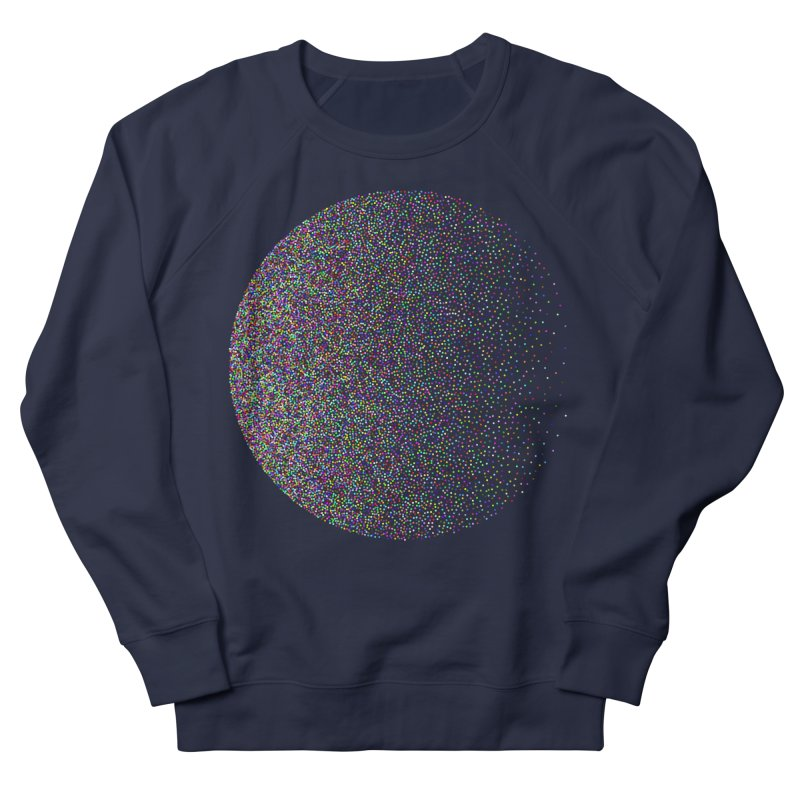 Pointilism in a Circle Men's French Terry Sweatshirt by zeroing 's Artist Shop
