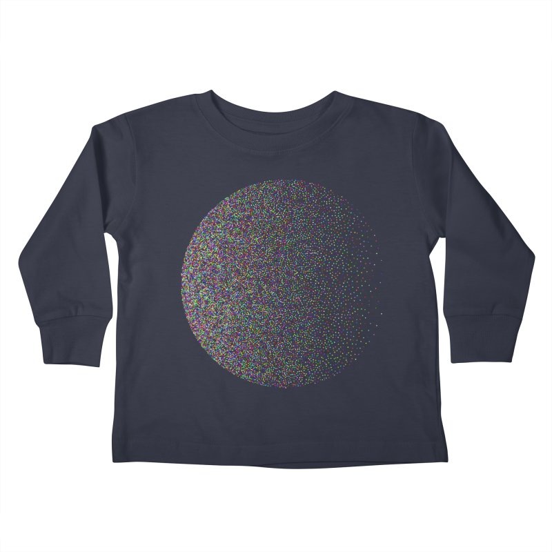 Pointilism in a Circle Kids Toddler Longsleeve T-Shirt by zeroing 's Artist Shop