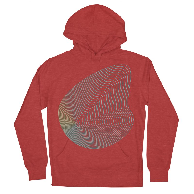 Ripple Women's French Terry Pullover Hoody by zeroing 's Artist Shop