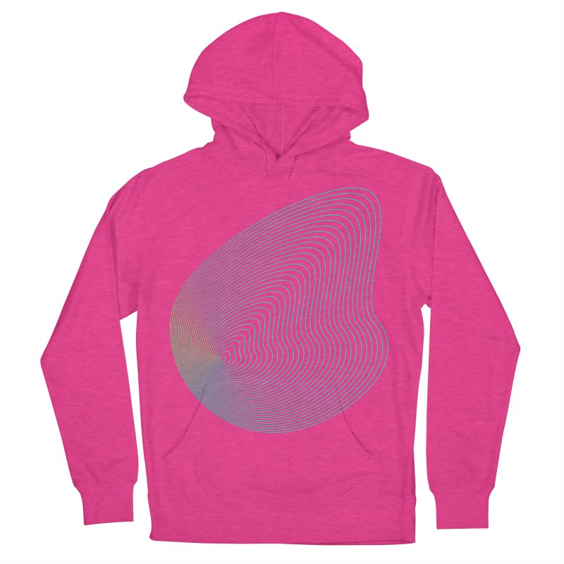 Ripple Men's French Terry Pullover Hoody by zeroing 's Artist Shop