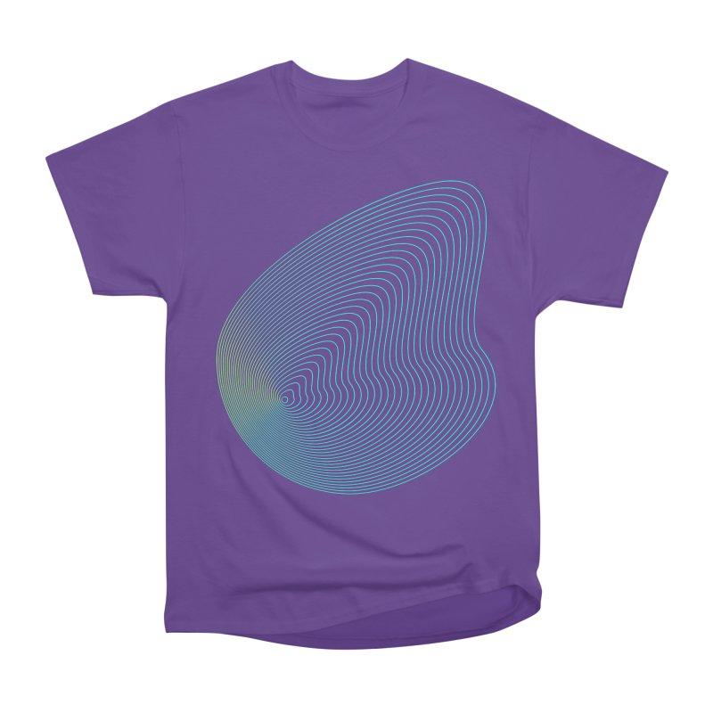 Ripple Men's Heavyweight T-Shirt by zeroing 's Artist Shop