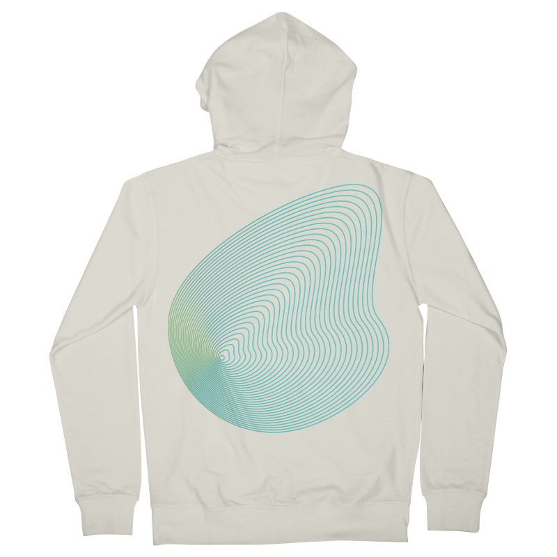 Ripple Women's French Terry Zip-Up Hoody by zeroing 's Artist Shop